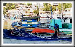 Pescador (o.dirce) Tags: odirce pescador barco jurujuba niterói