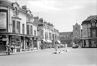 Church Street, Seaford, Sussex, 1958
