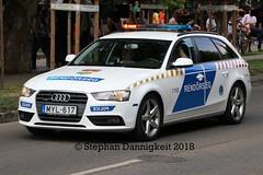 FuStw Budapest - Audi A4 TFSI quattro (Stephan Dannigkeit) Tags: járőrkocsi radiowóz funkwagen węgry budapeszt budapest ungarn hungary audi a4 avant tfsi quattro brfk rendörseg polizei policja police
