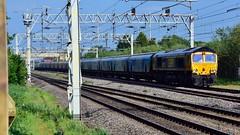 66713 (Martin's Online Photography) Tags: 66713 gbrf class66 train freight locomotive rail actonbridge nikon nikond7200 drax tuebrook
