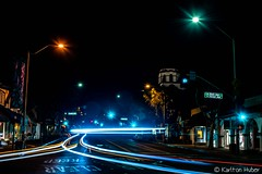 The Streets Of Laguna - Night Lights_5959 (www.karltonhuberphotography.com) Tags: 2018 cartrails citystreets hwy1 headlights horizontalimage karltonhuber laguna lagunabeach light motion nightlights nightphotography pch pacificcoasthighway signs southcounty southerncalifornia storefronts streetlights streetphotography streetscene taillights trafficlights