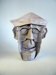 Old Fool - Rui Roda (Rui.Roda) Tags: origami papiroflexia papierfalten masque mask mascara old fool