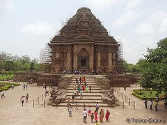 watermarked-DSC07774_Fotor (Tushar A Sharma) Tags: temple konarksuntemple puri orissa india ancienttemple