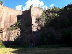 Climbing in Löbejün, Germany (Johannes Zuane) Tags: climbing rockclimbing quarry löbejün aktienbruch klettern felsklettern steinbruch