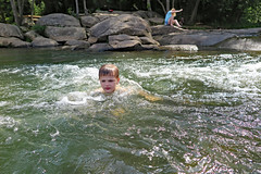 xriverx (FAIRFIELDFAMILY) Tags: broad river west columbia sc south carolina water fairfield southern winnsboro jason taylor grant carson michelle white waves splash swimming fun pretty rock rocks kayak kayaking brother brothers child young old outside explore exploring boy bridge playing play