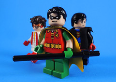 Young Justice (-Metarix-) Tags: lego minifig young justice comic super hero dc universe pre new52 impulse robin superboy teen titans