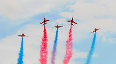 Reds (rutolander) Tags: red arrows lincolnshire