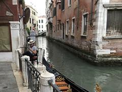 Use my new app... (terryburgess) Tags: venice venitian gondola gondolier italy canal smartphone iphone app rialto rialtobridge