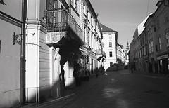 Bratislava (Nikol Dziub) Tags: pentax p30t agfa apx100 aph09 bratislava analog bw film street