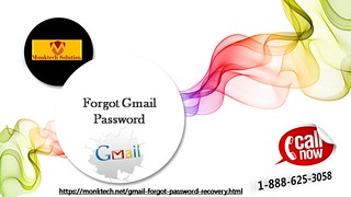 Forgot Gmail password 1-888-625-3058? We are the key of your account