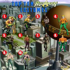 Top Ten Aquaman Costumes (AntMan3001) Tags: top ten dc aquaman costumes
