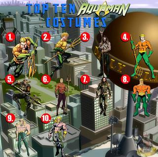 Top Ten Aquaman Costumes