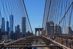 Brooklyn Bridge (alex_7719) Tags: architecture city newyork newyorkcity nyc bridge brooklynbridge manhattan usa сша манхэттен ньюйорк мост архитектура suspensionbridge