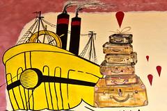 Mural at Orgosolo (MarkusR.) Tags: mrieder markusrieder nikon d7200 nikond7200 vacation urlaub fotoreise phototrip italy2018 italy 2018 italien sardinia sardinien kurzurlaub shortbreak insel island europa europe orgosolo nuoro murales murals wandbilder history geschichte paintings bilder town city stadt dorf