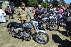 DSC_0166 (richardclarkephotos) Tags: trowbridge armed forces day 2018 allied axis british german polish uniforms tanks vehicles jeeps weapons memorabilia © richard clarke photos richardclarkephotos reenactors home guard army paratroops airforce spitfire classic cars motorbikes bloodbikes legion