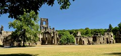 Kirkstall Abbey, Leeds, Yorkshire, UK (BrianDerbyshire) Tags: uk england leeds kirkstall kirkstallabbey cistercians abbey riveraire park ruins