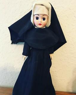 Nun Doll Awake