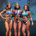 Novice Bikini - 2nd Samantha Colby 1st Daniella Rensen 3rd Cristina Soares