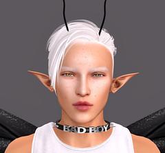 Profile July 2018 (Niki Wirefly) Tags: fae fairy fairey faerie male fantasy ears secondlife wings niki sl portriat