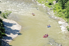 Letchworth Gorge, Navigating Great Bend (pecooper98362) Tags: castile newyork letchworthstatepark letchworthgorge grandcanyonoftheeast genesseriver greatbendoverlook greatbend whitewaterrafts greatbigbend