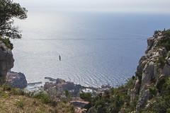Equilibrium [II] (Olivier So) Tags: france frenchriviera têtedechien above slackline tightrope monaco montecarlo