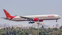 """Air India Boeing B777-300ER VT-ALO """"Karnataka"""" Mumbai (VABB/BOM) (Aiel) Tags: airindia boeing b777 b777300er vtalo karnataka mumbai canon60d tamron70300vc"""