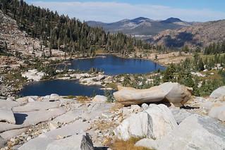 Doris Lake, Desolation Wilderness, Sierra Nevada mountains, California