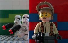 A second...an eternity... (-Adraryel-) Tags: starwars guerrestellari lego toy toys stormtrooper stormtroopers firstorder