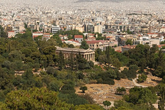 Temple of Hephaestus - Athens (Greece) (Meteorry) Tags: europe greece ελλάδα athens αθήνα athènes athína attica athina templeofhephaestus areopagushill hephesteum temple city urban view viewpoint pointdevue ἡφαιστειον ναόσηφαίστου theseion theseum θησειον θησείο ἄρειοσπάγοσ may 2018 meteorry decentralizedadministrationof decentralizedadministrationofattica