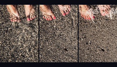Maybe this all is (Melissa Maples) Tags: kemer turkey türkiye asia 土耳其 apple iphone iphonex cameraphone summer beach qualista mediterranean sea water multipanel triptych me melissa maples selfportrait woman barefoot feet pebbles sand