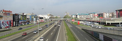 Freeway through Belgrade (jimsawthat) Tags: roads freeway urban belgrade serbia