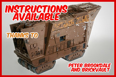 Instructions available thanks to Peter Brookdale and BrickVault (Marshal Banana) Tags: