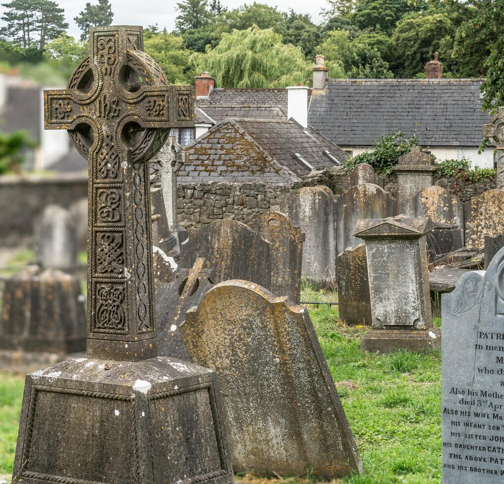 OLD CHURCHYARD KNOWN AS ST. JOHN'S [DUBLIN ROAD KILKENNY]-142921
