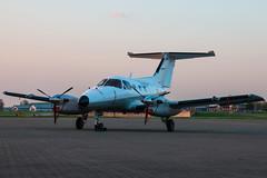 French Air Force EMB-121 Xingu (Sam Wise) Tags: night aircraft airplane aeroplane de force northolt air armee london aviation photography embraer lair xingu nightshoot french raf