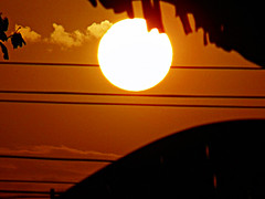 Sun At 06:00 pm (sureba67) Tags: sundown sunset sun photography nature sureba67 sonydsch200 babusuresh niftybaba