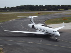 N761LE Gulfstream G650 Bank of Utah Trustee (Aircaft @ Gloucestershire Airport By James) Tags: luton airport n761le gulfstream g650 bank utah trustee bizjet eggw james lloyds