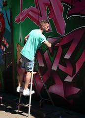 step in the arena (wojofoto) Tags: eindhoven nederland netherland holland berenkuil stepinthearena festival graffiti streetart wojofoto wolfgangjosten action artist