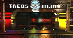 Tacos Mijos ([ Z.E.R.O ]) Tags: cocoon scifi cyberpunk sl slrp secondlife tacos