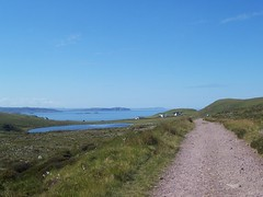 Start of the walk to Sandwood, North West Sutherland, July 2018 (allanmaciver) Tags: blairmore sea water handa loch aisir track allanmaciver sutherland north west scotland