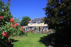 Hillview in the Sun, Seckington, UK.