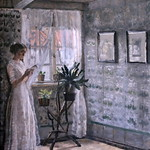 IMG_2258 Helga Cathrine Ancher (1883-1964) Skagen Interior from the