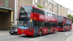 Streetwest (londonbusexplorer) Tags: goahead london wrightbus streetdeck micro hybrid wsd23 sn18xzt 131 tooting broadway kingston tfl buses