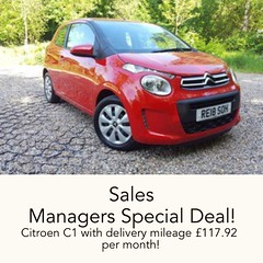 Welcome our Sales Managers Special Deal! 2018 Scarlet Red Citroen C1 now reduced to £7990 Deposit £799 £117.92 per month on pcp Call our Sales Team now on 01252 213150 for more information. #firstcar #love #learnerdriver #greatdeal (Charters Citroen) Tags: citroen aldershot hampshire fleet surrey