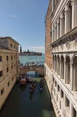 The view of sighs (ORIONSM) Tags: venice italy bridge sighs church tower prison doges palace tourists boats gondolas sony rx100mk3 pontedeisospiri churchofsangiorgiomaggiore