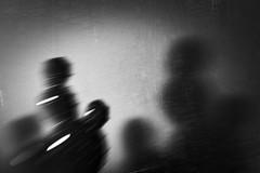 the unreal vs its shadow (Neko! Neko! Neko!) Tags: blackandwhite blackwhite bw mono monochrome unreal imaginary shadow confrontation contrast emotion expression expressionism lensbaby
