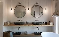 Baño estilo rústico (Alfonso Pérez Alvarez) Tags: 3d interior diseño interiordesign madrid freelance baño bath bathroom rustico rustic industrial