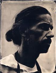 Moi-même, par Pascal Robin (Troisième type) Tags: collodion collodionhumide wetplate busch pressman 4x5 180mm lelabodutroisieme
