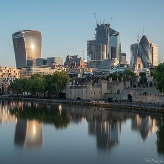 Square Mile Reflection, London
