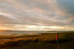 why there's waves in the clouds? (SebKomo) Tags: fleuve river lawrence laurent st nikon d3000 lapocatière coucher de soleil sunset 1855mm paysage landscape nuages clouds