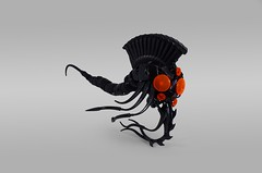 Wandering Soul, the Eternal (Rеdverse) Tags: biocup2018 bionicle lego action figure alien tentacles cthonic dark black fantasy